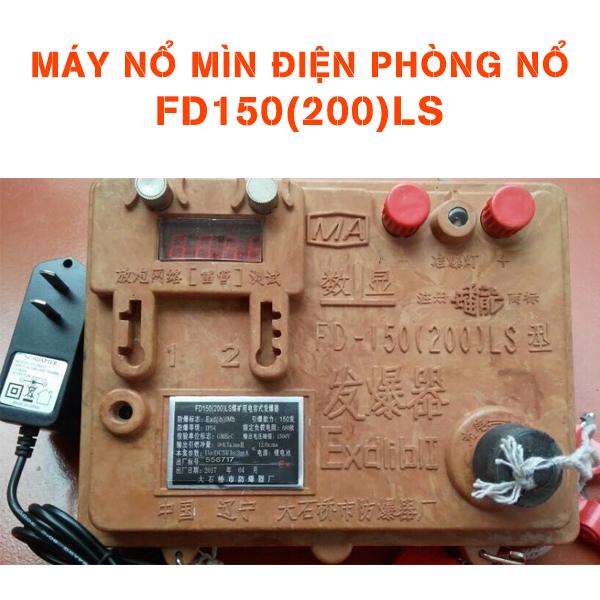 Máy Nổ Mìn Điện Phòng Nổ FD150(200)LS